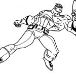 Marvel Captain America Coloring Page