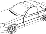 Mercedes Benz 600 Coloring Page