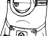Minion Not Funny Coloring Page
