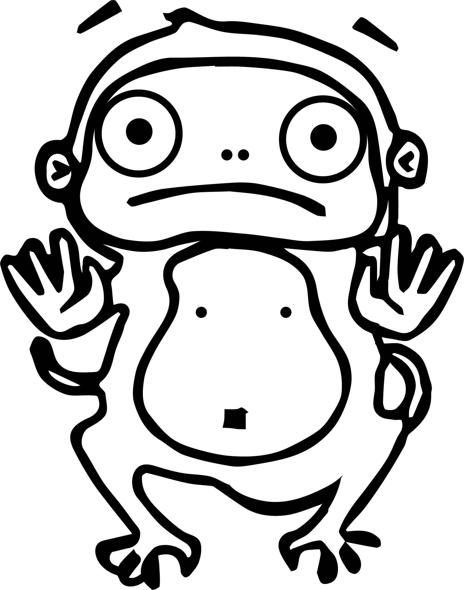 Monkey Cartoon Characters Coloring Page