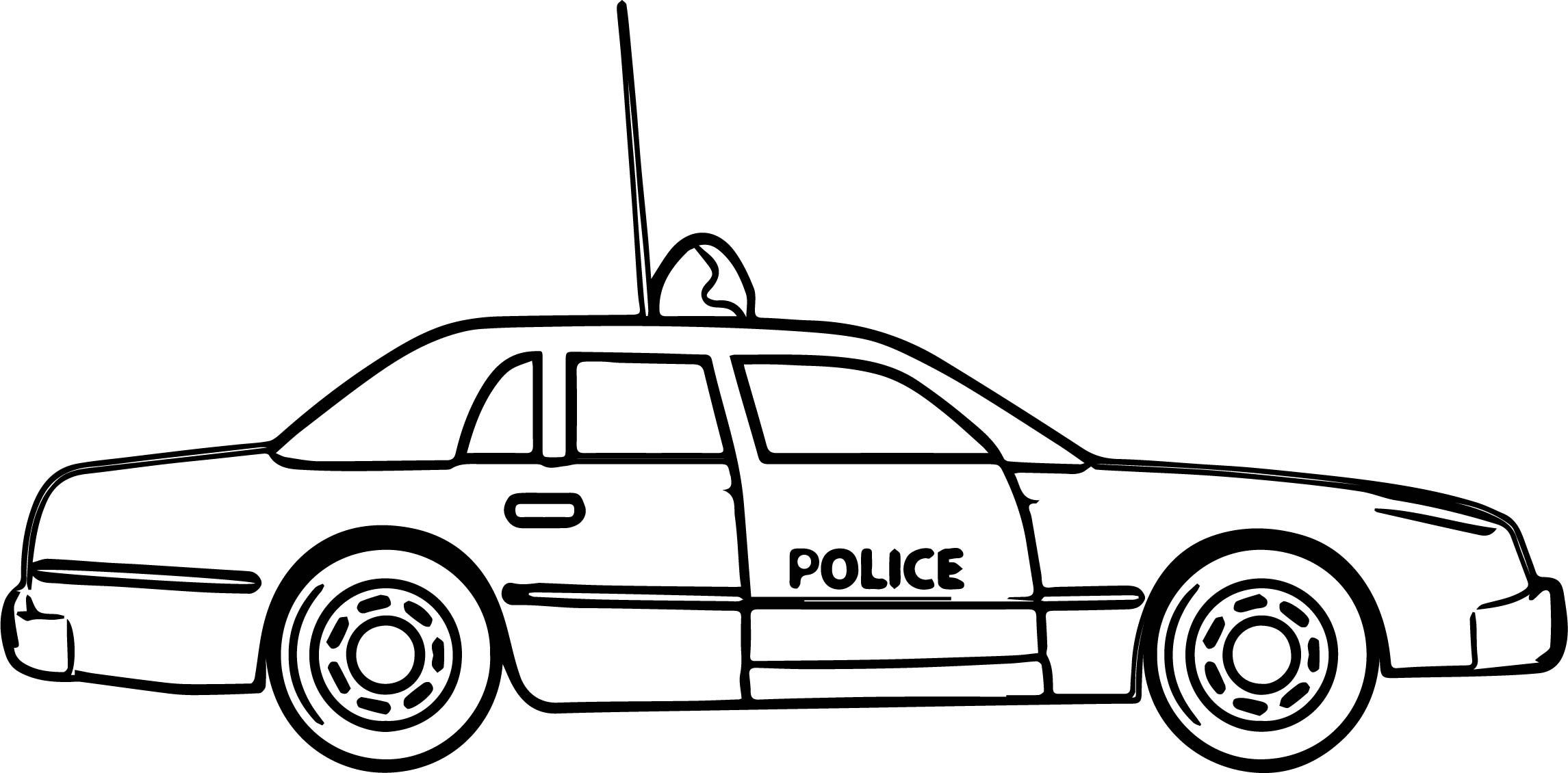 police car coloring pages - new police car coloring pages