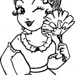 New Style Betty Boop Wink Coloring Page