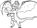 Old American Dragon Jake Long Coloring Page