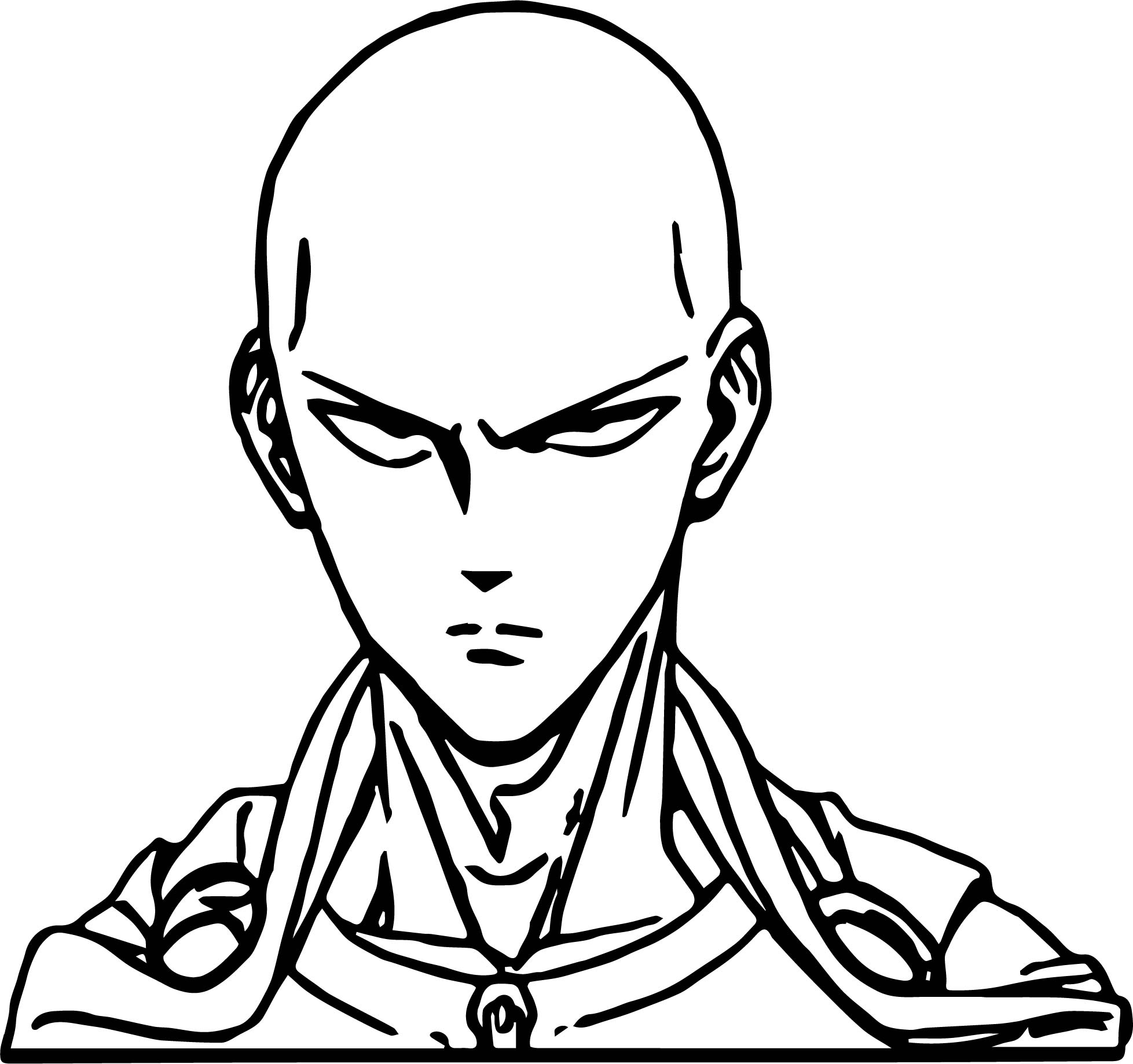 Color In Character Design : One punch man anime character design saitama coloring page