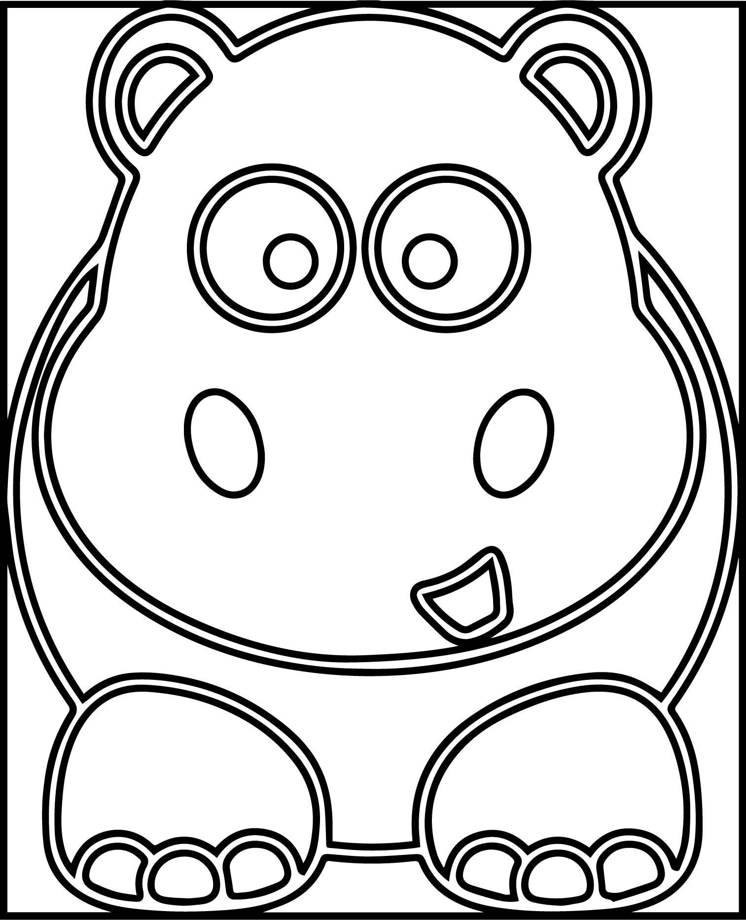 Rhino Coloring Page | Wecoloringpage.com