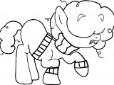 Roach As A Pony Rainbow Coloring Page