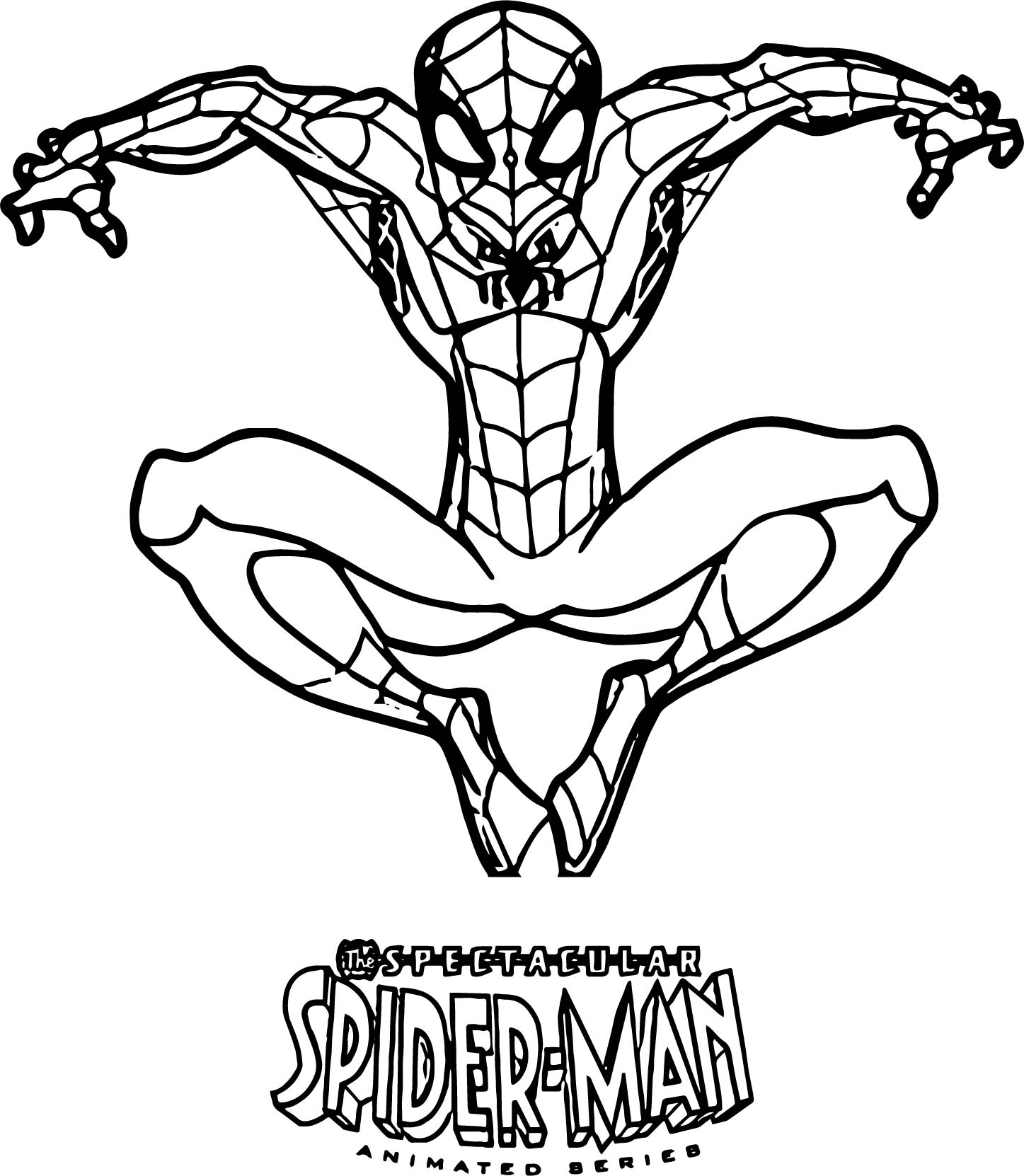 spectacular spiderman coloring pages - photo#3