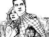 Spider Man In Movie Coloring Page