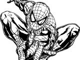 Spider Man One Shot Coloring Page