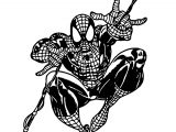 Spider Man Rope Coloring Pages