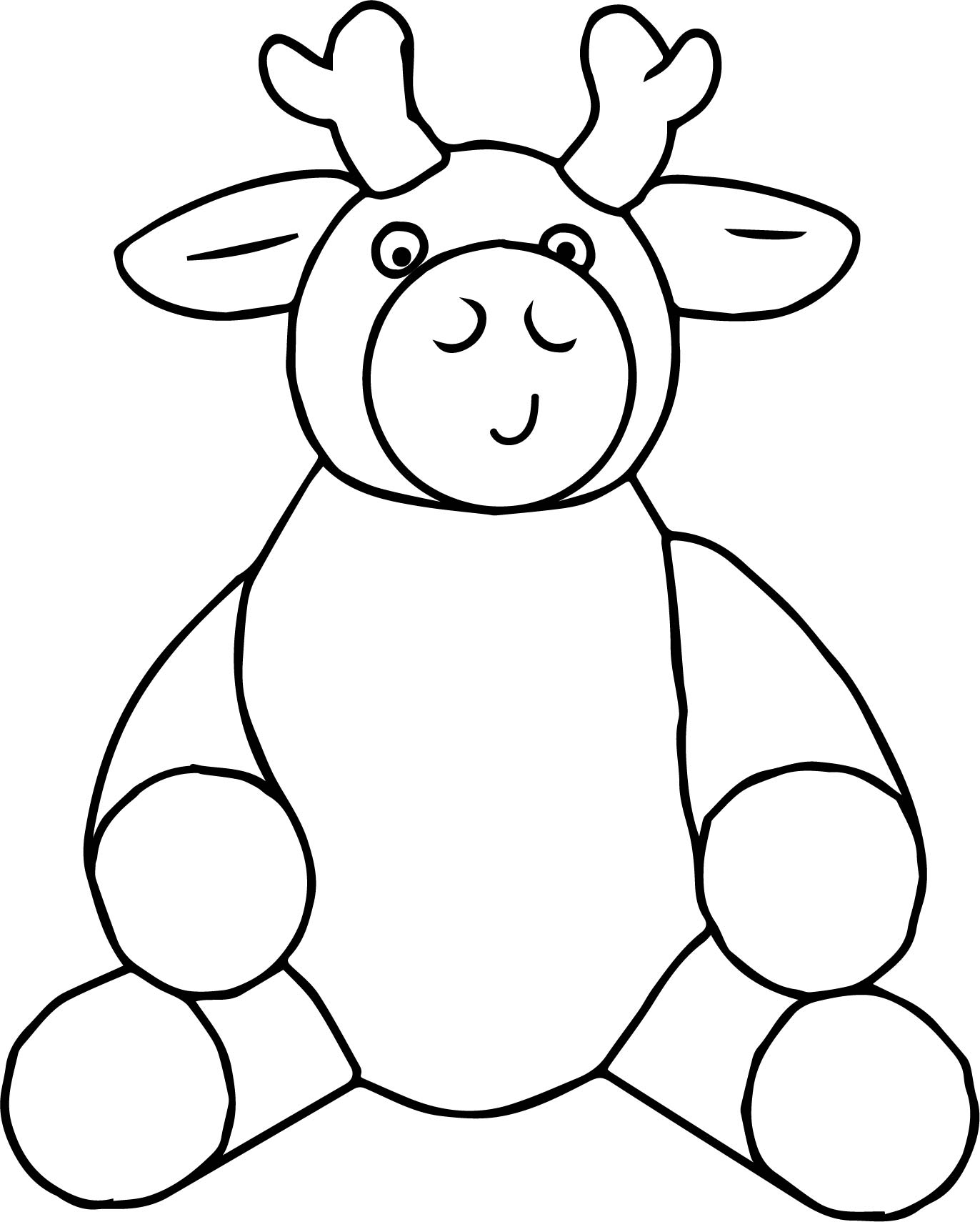 Staying Ox Colloquial Dumb Coloring Page