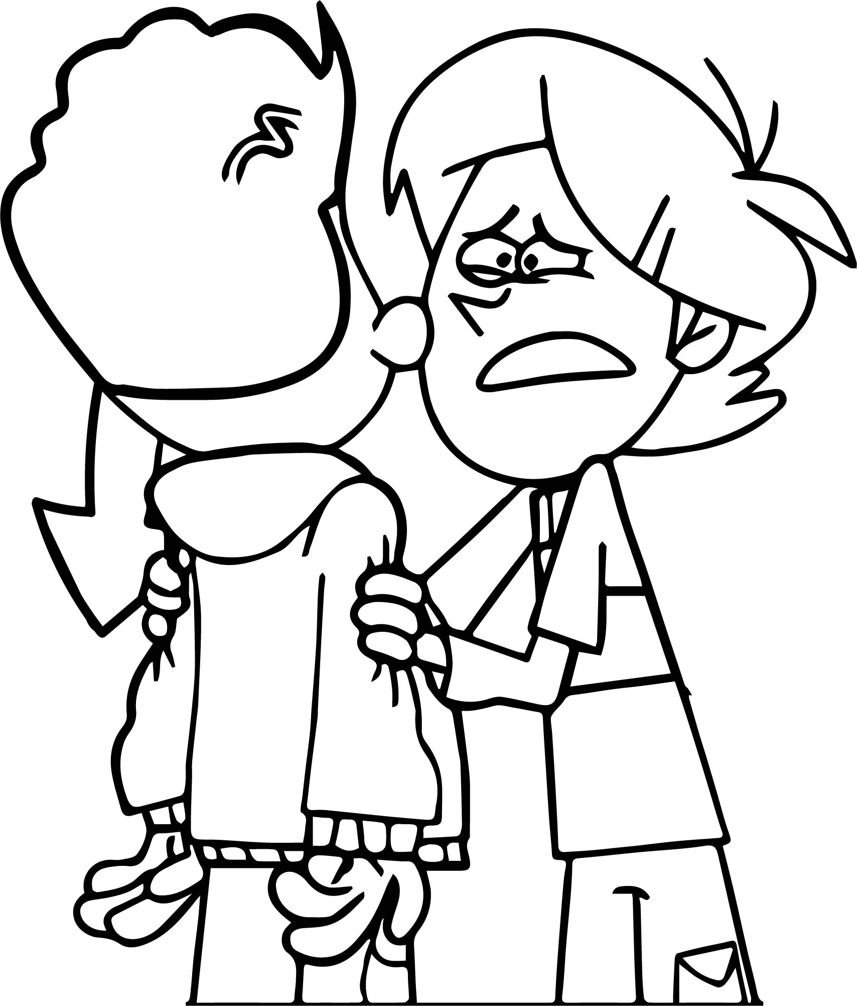 Supernoobs What Happen Coloring Page