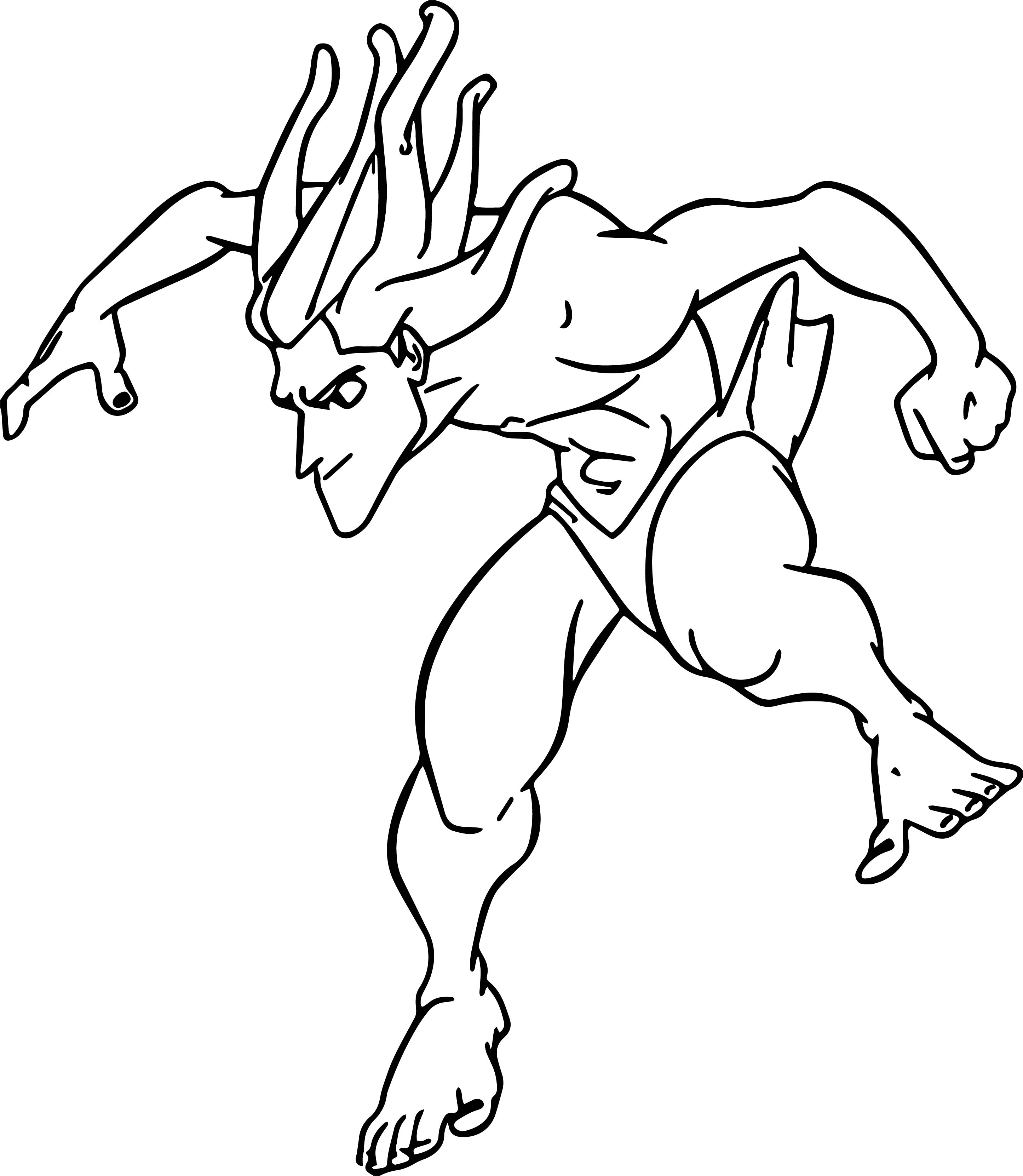 Tarzan Slide Coloring Page
