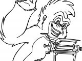 Terk Monkey Type Coloring Page