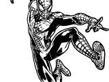 The Amazing Spider Man Spider Man Fly Coloring Page