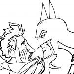 The Batman Joker Man Coloring Page
