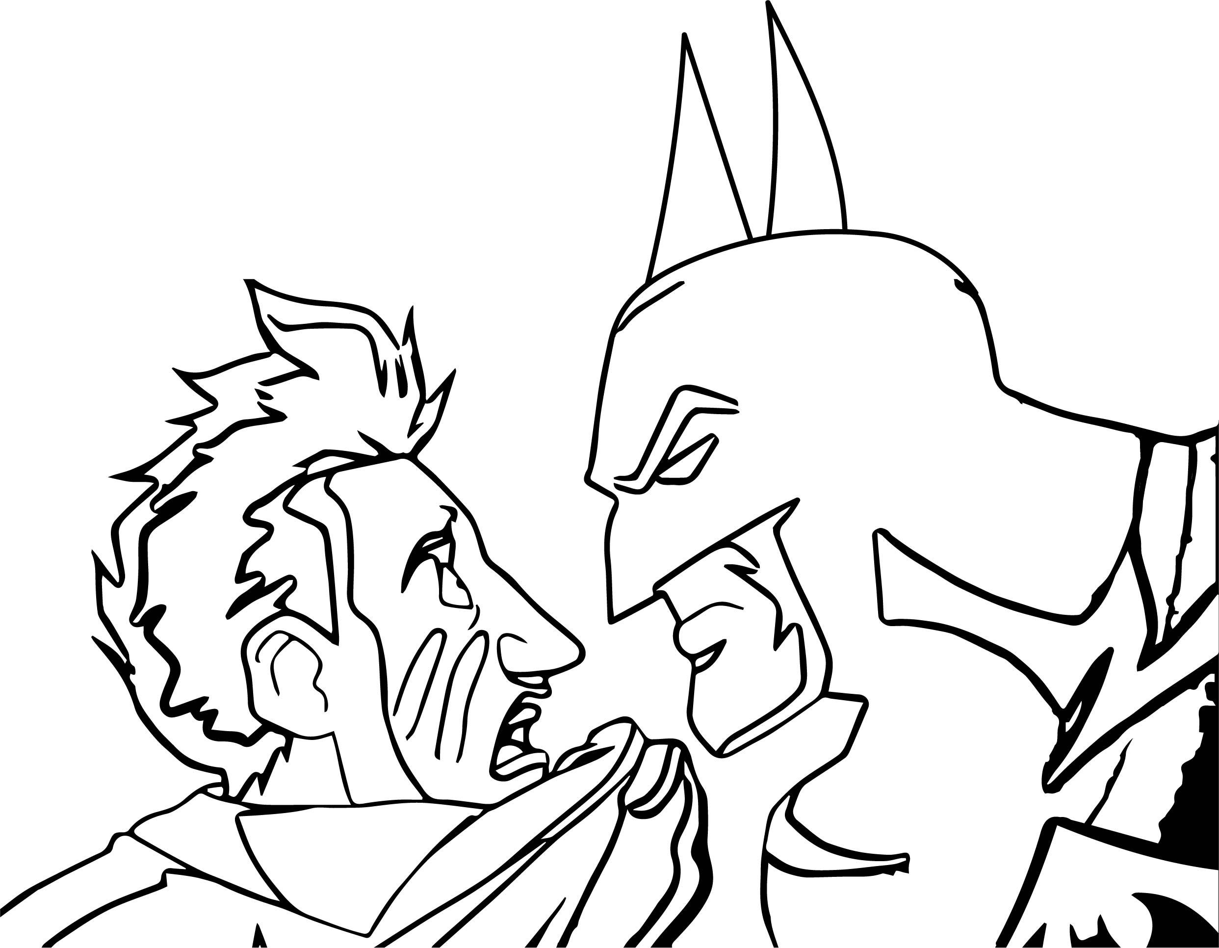 The Batman Joker Man Coloring Page | Wecoloringpage