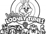 Warner Bros Baby Looney Tunes All Coloring Page
