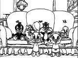 Warner Bros Baby Looney Tunes At Home Movie Coloring Page