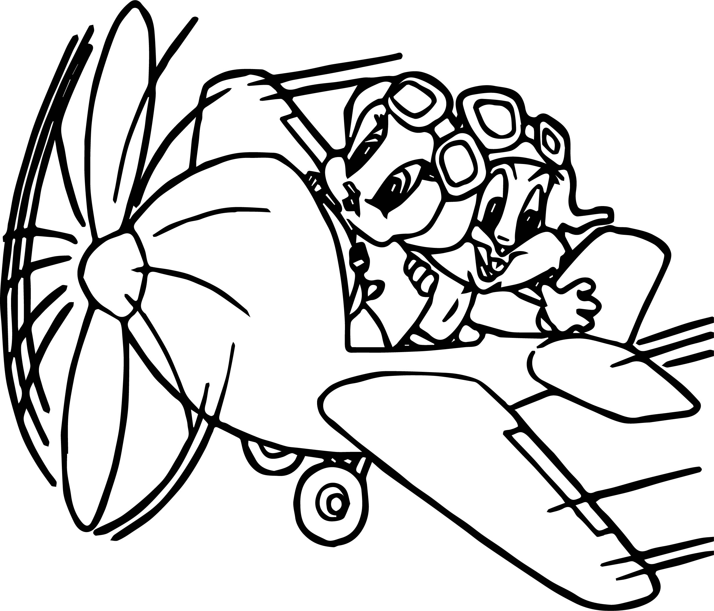 Looney Tunes Coloring Pages Baby Bugs Bunny