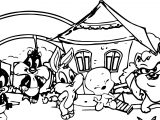 Warner Bros Baby Looney Tunes Home Coloring Page