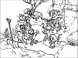 Warner Bros Baby Looney Tunes Snow Coloring Page
