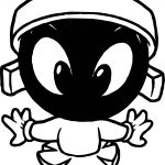 Warner Bros Baby Looney Tunes Space Characters Front View Coloring Page