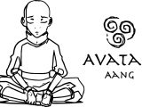 When We Hit Our Lowest Point Aang Avatar Aang Coloring Page