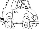 Wide Car Coloring Page