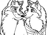 Wip Balto And Jenna Coloring Page