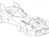 XNA Batmobile Injustice GAU Coloring Page Outline