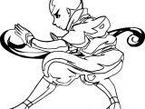 Aang The Last Airbender Matsuoamon Avatar Aang Coloring Page