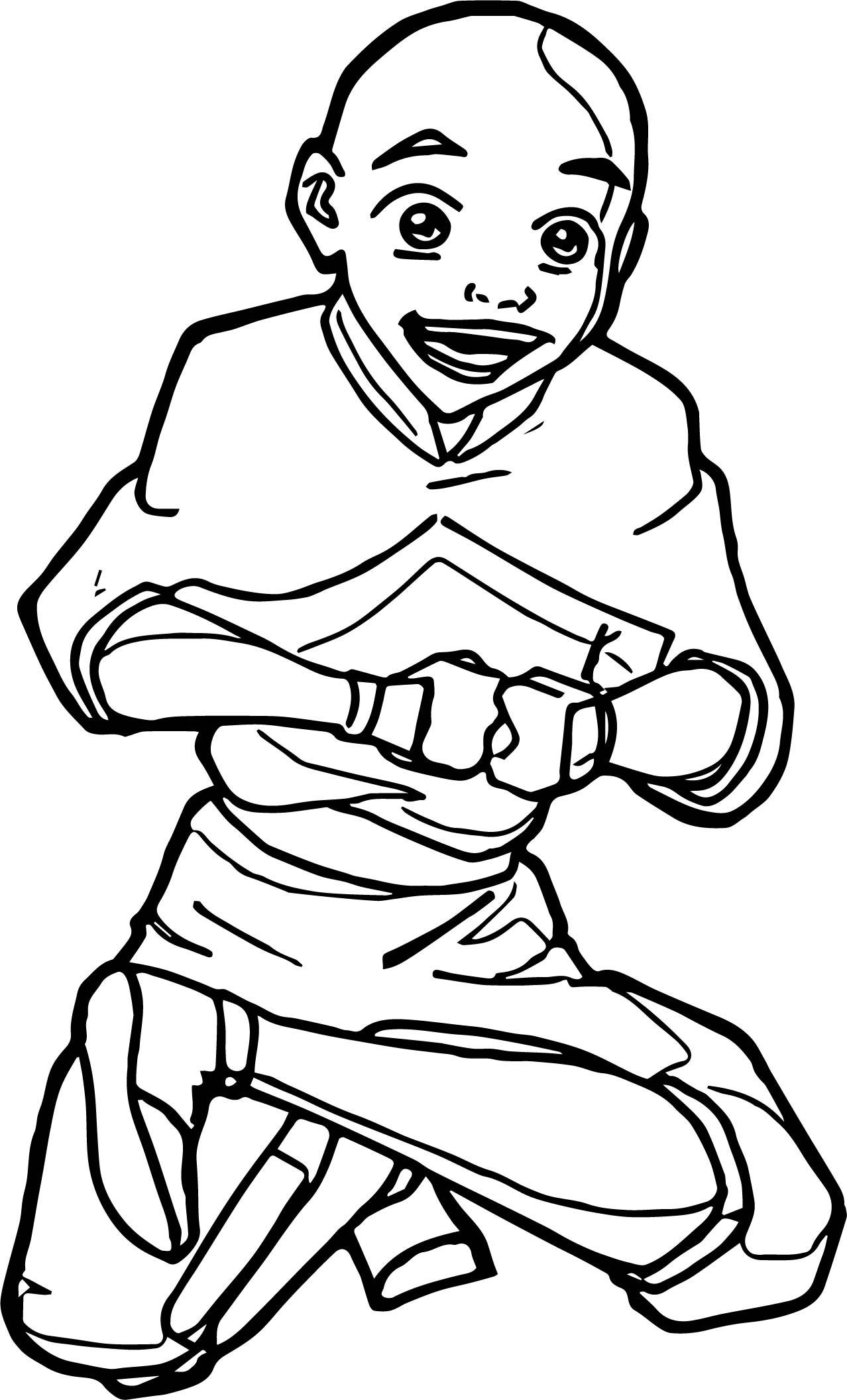 Aang Vmolless Avatar Aang Coloring Page