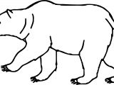 About Walking Bear Coloring Page