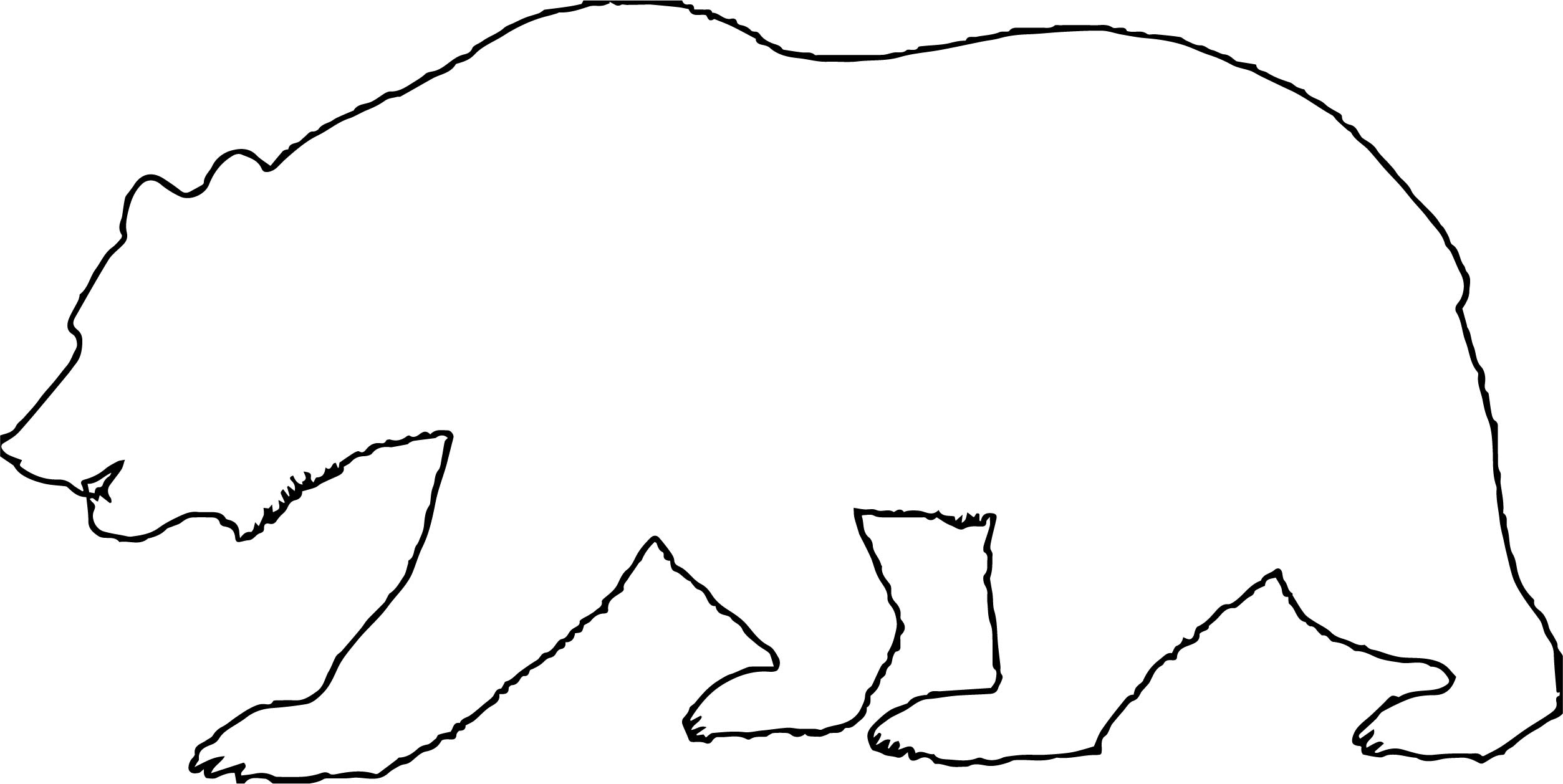 Again Bear Coloring Page
