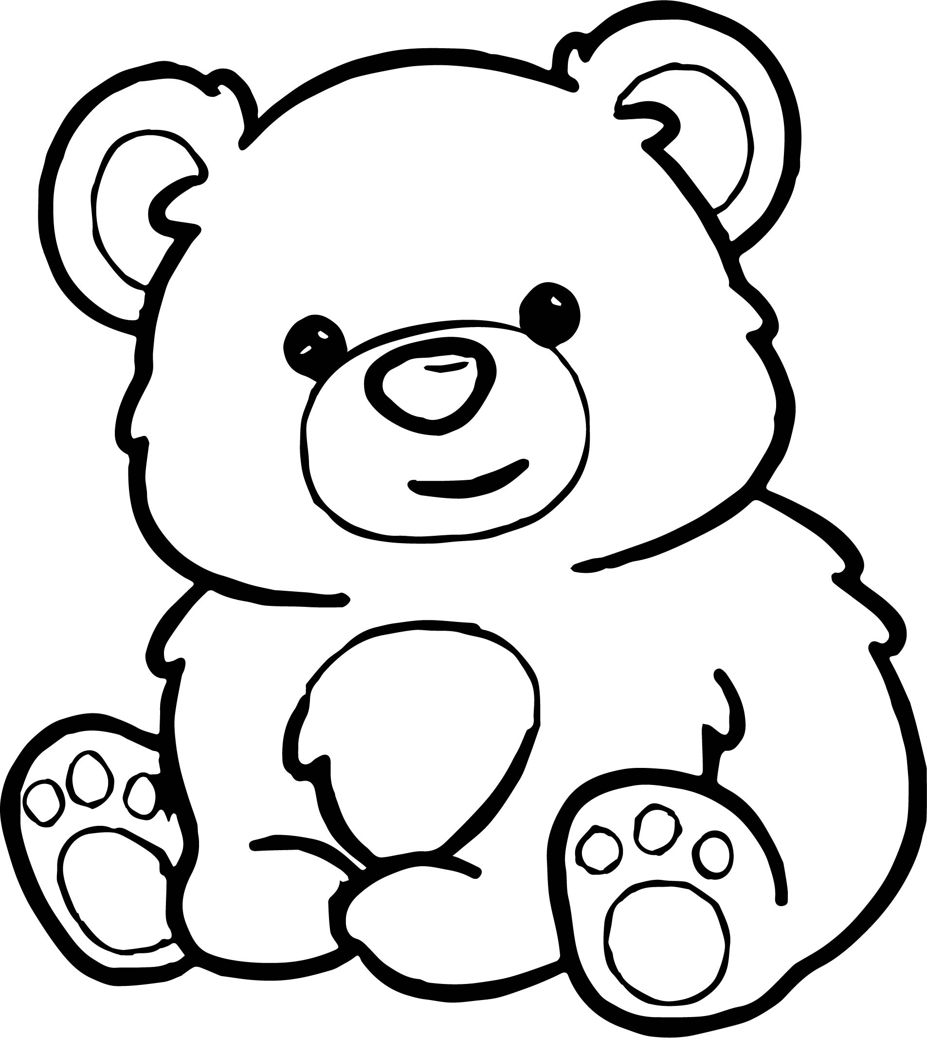 All Bear Coloring Page
