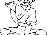 Ang The Last Airbender Chibi Jen Hen Avatar Aang Coloring Page