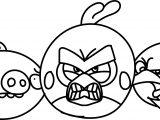 Angry Birds Two Rovio Coloring Page