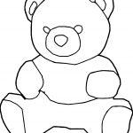 Animal Bear Coloring Page
