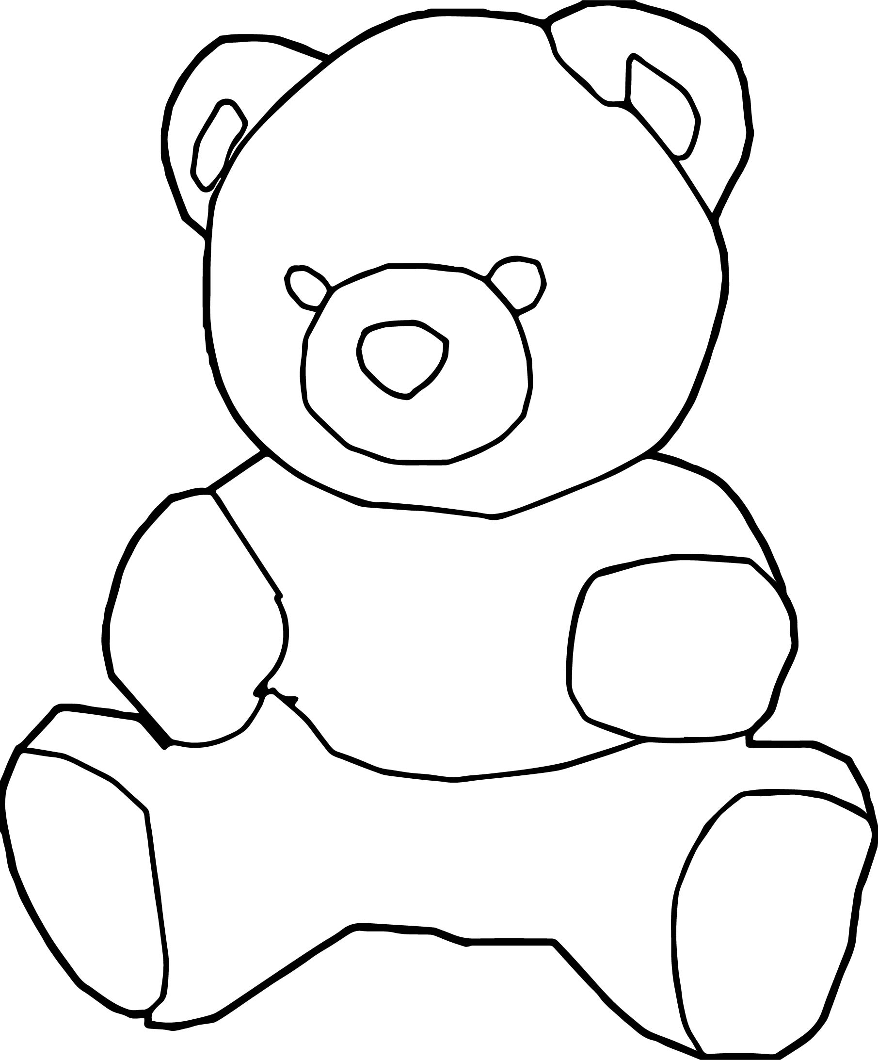 Animal Bear Coloring Page