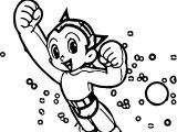 Astro Boy Movie Slice Coloring Page