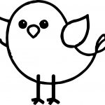 At Bird Coloring Page