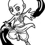 Avatar Aang Kirin Dcbh Avatar Aang Coloring Page