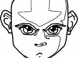Avatar The Legend Of Aang Aang Himself Avatar Aang Coloring Page