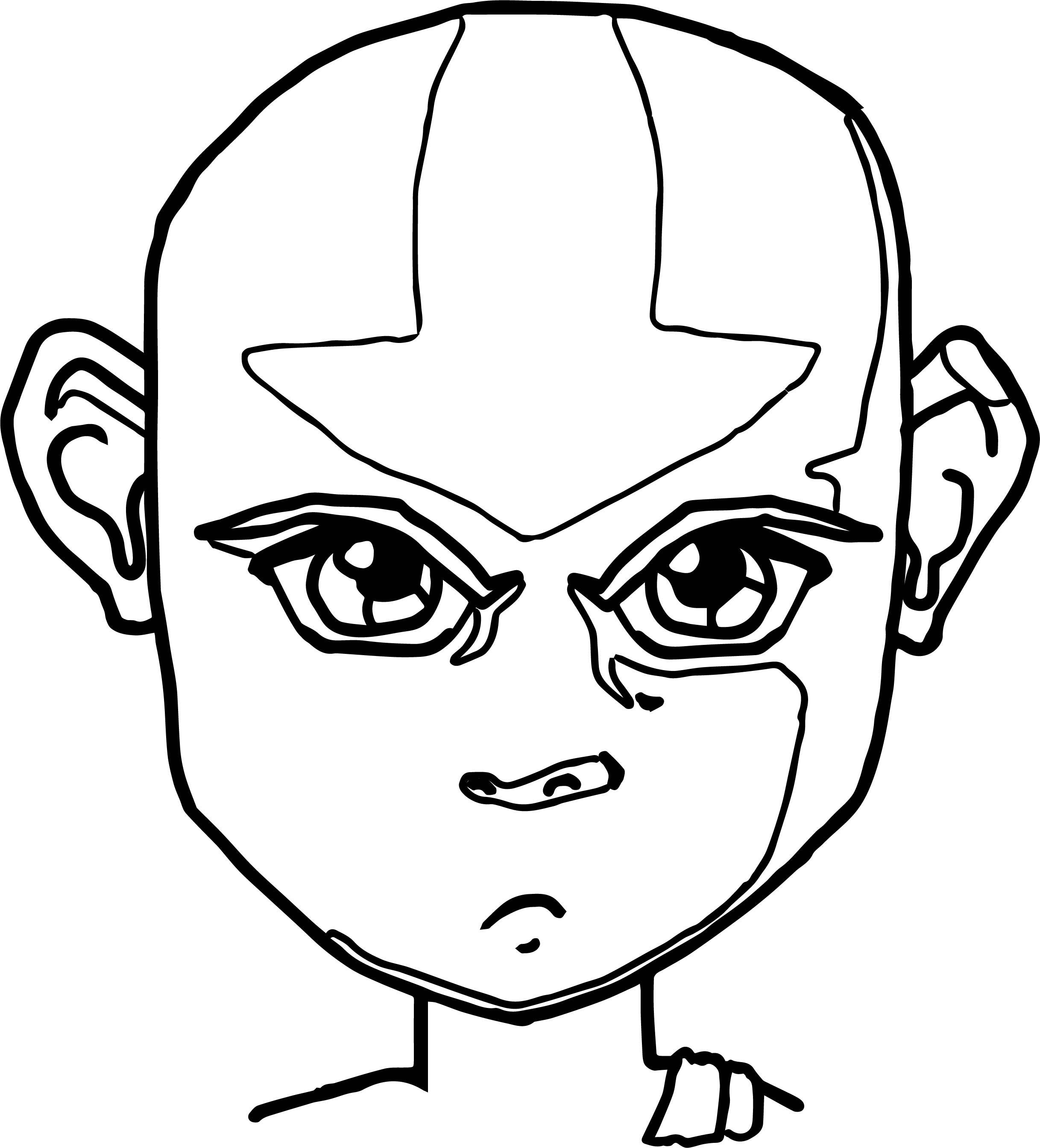 Avatar The Legend Of Aang Aang Himself Avatar Aang Coloring Page
