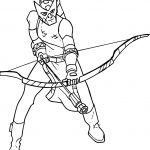 Avengers Arrow Coloring Pages