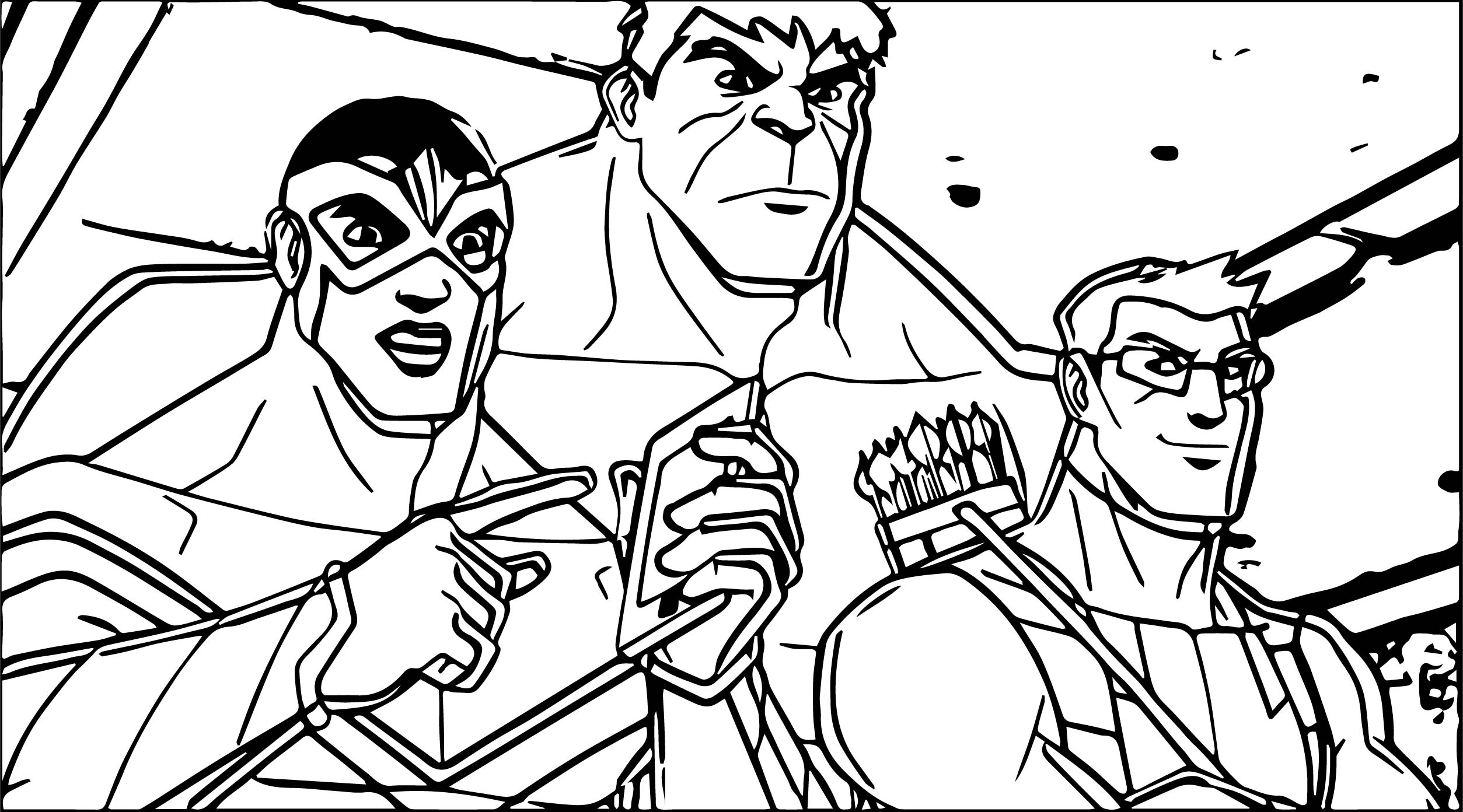 Avengers Hulk Phone Coloring Page