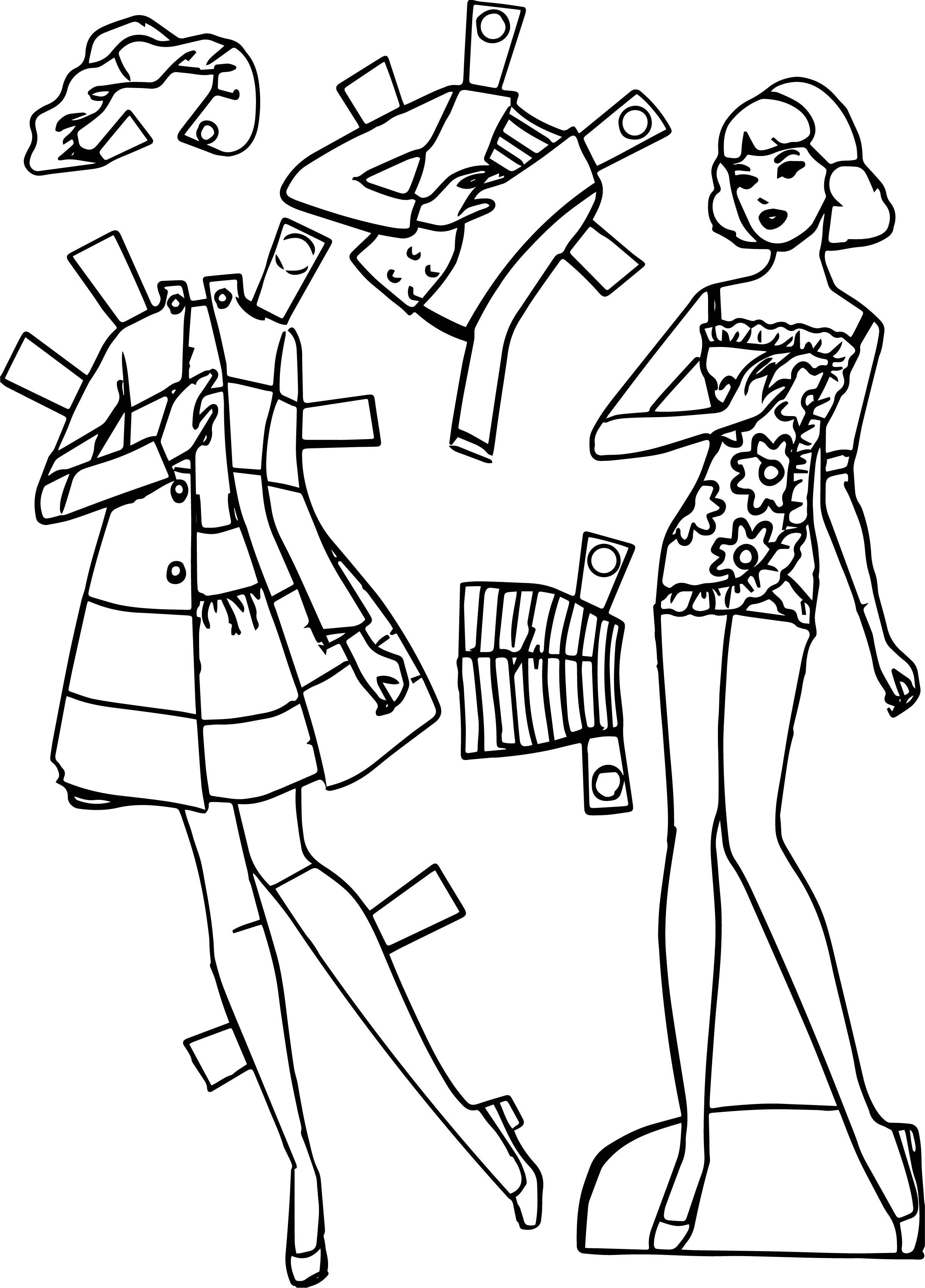 barbie logo coloring pages | Barbie Logo Coloring Coloring Pages