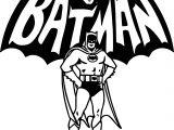 Batman And Batman Text Coloring Page