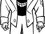 Batman Bad Man Coloring Page